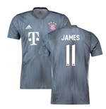 2018-19 Bayern Munich Third Shirt (James 11)