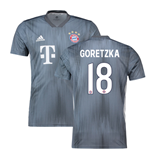 2018-19 Bayern Munich Third Shirt (Goretzka 18)