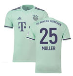 2018-19 Bayern Munich Away Shirt (Muller 25)