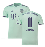 2018-19 Bayern Munich Away Shirt (James 11)
