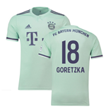 2018-19 Bayern Munich Away Shirt (Goretzka 18)