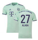 2018-19 Bayern Munich Away Shirt (Alaba 27)