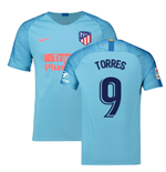 2018-2019 Atletico Madrid Away Nike Football Shirt (Torres 9)