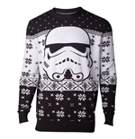 Star Wars Knitted Christmas Sweater Stormtrooper