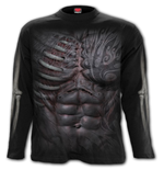 Ripped - Longsleeve T-Shirt Black