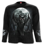 Vamp Cat - Longsleeve T-Shirt Black