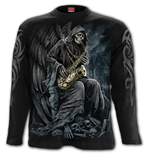 Reaper Blues - Longsleeve T-Shirt Black