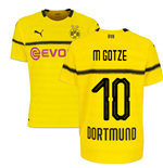 2018-19 Borussia Dortmund Home UCL Football Shirt (M Gotze 10) - Kids