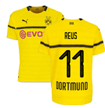2018-19 Borussia Dortmund Home UCL Football Shirt (Reus 11) - Kids