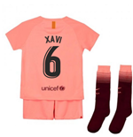 2018-2019 Barcelona Third Nike Little Boys Mini Kit (Xavi 6)