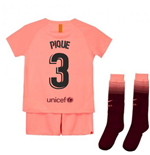 2018-2019 Barcelona Third Nike Little Boys Mini Kit (Pique 3)