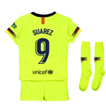 2018-2019 Barcelona Away Nike Little Boys Mini Kit (Suarez 9)