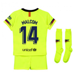 2018-2019 Barcelona Away Nike Little Boys Mini Kit (Malcom 14)