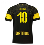2018-2019 Borussia Dortmund Puma Away Football Shirt (M Gotze 10)