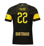 2018-2019 Borussia Dortmund Puma Away Football Shirt (Pulisic 22)