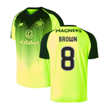 2018-2019 Celtic Third Football Shirt (Brown 8)
