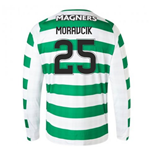 2018-2019 Celtic Home Long Sleeve Shirt (Moravcik 25)