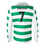 2018-2019 Celtic Home Long Sleeve Shirt (Larsson 7)