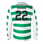 2018-2019 Celtic Home Long Sleeve Shirt (Edouard 22)