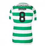 2018-2019 Celtic Home Ladies Football Shirt (Brown 8)