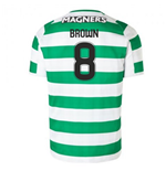 2018-2019 Celtic Home Football Shirt (Brown 8)