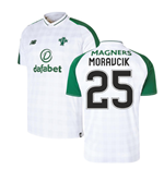 2018-2019 Celtic Away Football Shirt (Moravcik 25)