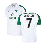 2018-2019 Celtic Away Football Shirt (Larsson 7)