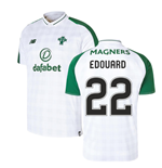 2018-2019 Celtic Away Football Shirt (Edouard 22)