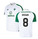 2018-2019 Celtic Away Football Shirt (Brown 8)