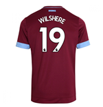 2018-2019 West Ham Home Football Shirt (Wilshere 19)