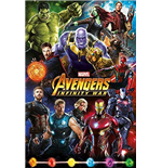 Marvel: Avengers Infinity War - Characters Maxi Poster