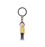Rick And Morty - Morty With Movable Head Metal Multicolor Keychain