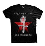 Rage Against The Machine T-shirt Bulls On Parade Mic