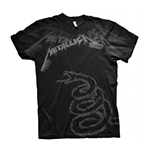 Metallica T-shirt Black Album Faded