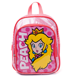 NINTENDO Super Mario Bros. Princess Peach Kids Backpack, Unisex, Pink/White