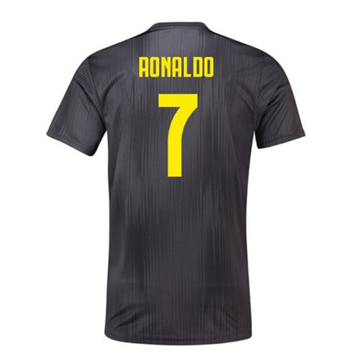 the latest c2a2d 73d35 2018-19 Juventus Third Football Shirt (Ronaldo 7)