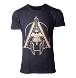 ASSASSIN'S CREED Odyssey Spartan Helmet T-Shirt, Male, Large, Black