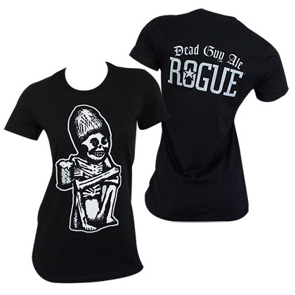 Dead Guy Rogue Women's Black Tee Shirt