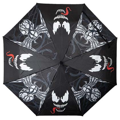 VENOM Water Reactive Black Umbrella