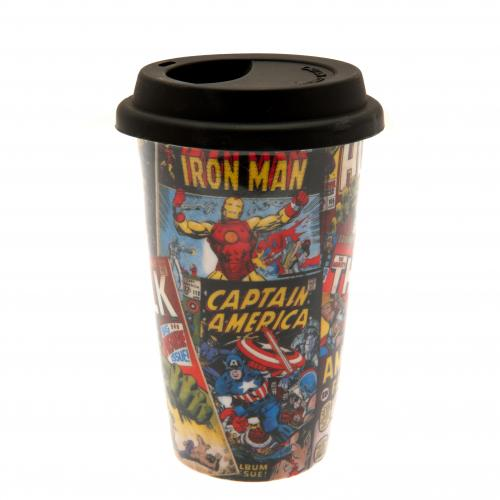 Marvel Comics Ceramic Travel Mug