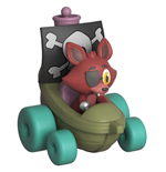Five Nights at Freddy's Super Racers Diecast Figure Foxy the Pirate 5 cm