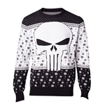 Marvel Knitted Christmas Sweater Punisher