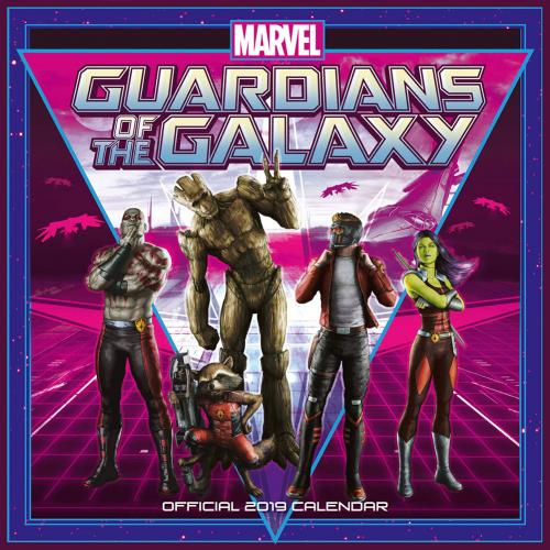 Guardians of the Galaxy Calendar 2019