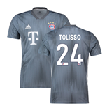 2018-19 Bayern Munich Third Shirt (Tolisso 24)