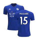 2018-2019 Leicester City Puma Home Football Shirt (Maguire 15)
