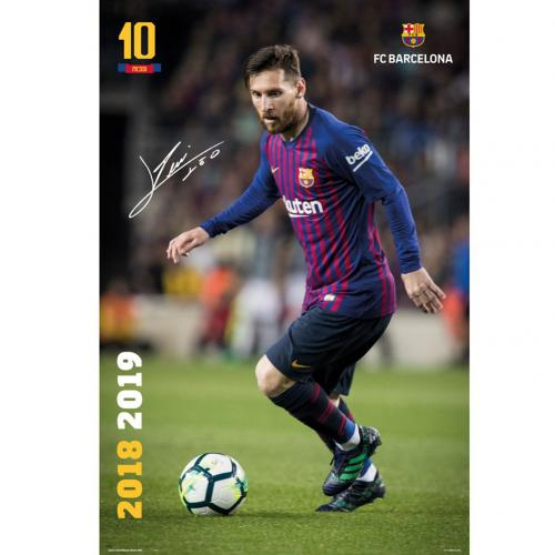 F.C. Barcelona Poster Messi 25