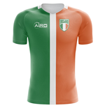 2018-2019 Ireland Flag Concept Football Shirt