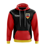 Germany Concept Country Football Hoody (Black)