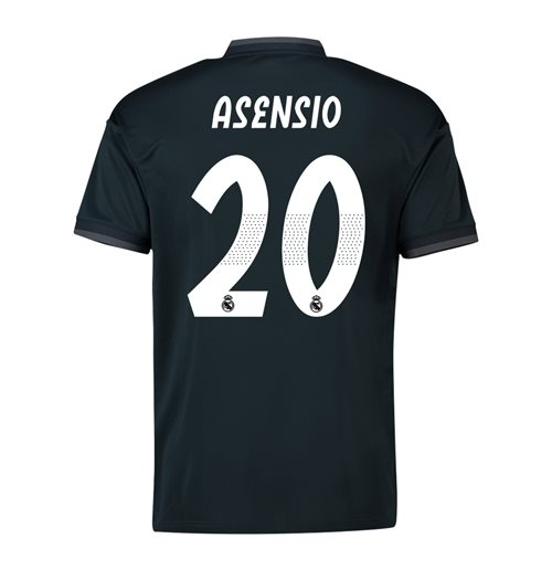 new product 06fa1 50197 2018-19 Real Madrid Away Shirt (Asensio 20)