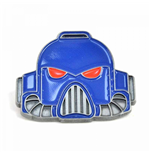 Warhammer Fantasy Battle Enameled Pin - Space Marine Helmet